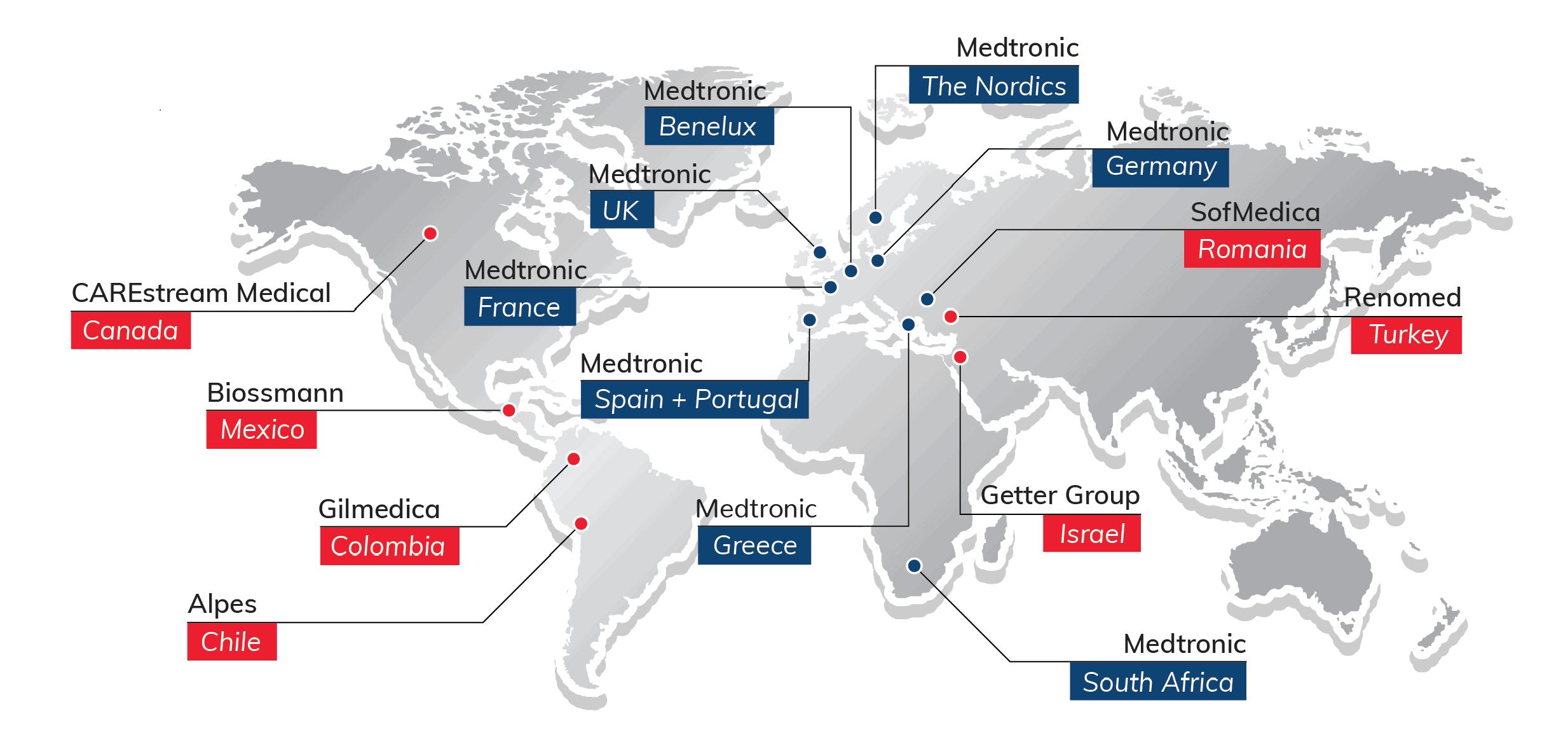 Medasense Global Distribution