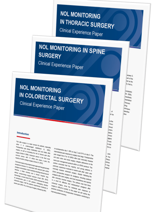 NOL Clinical Experience Papers - Thoracic Surgery / Colorectal Surgery / Spine Surgery
