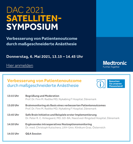 DAC 2021 - Symposium - Improving Patient Outcomes with Tailored Anesthesia