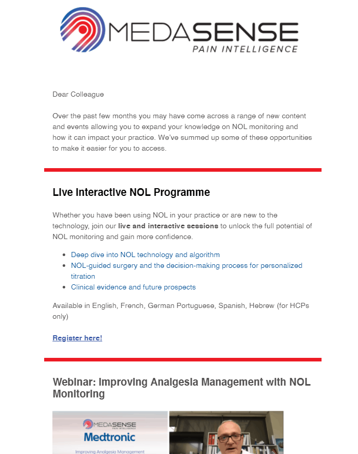 Medasense | NOL Newsletter March 2021